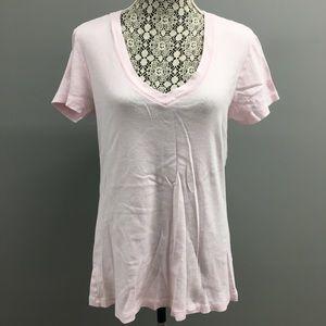 Old Navy V-neck Pink Tee